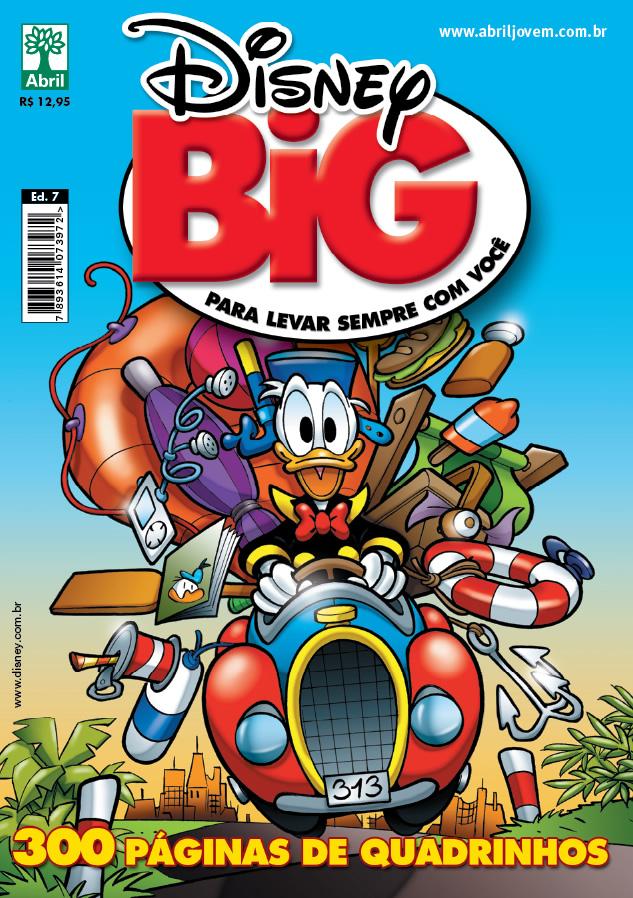 Photo of Lançamento em 6 dias: Disney BIG #07! [300 Páginas] [Atualização: Seleção de Histórias!]