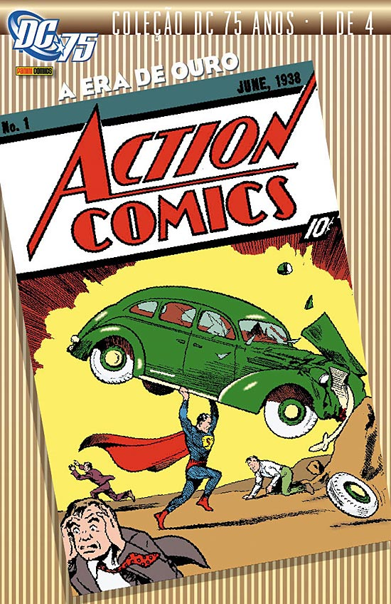 Photo of Coleção DC 75 Anos: Toda a glória do início da era de ouro dos quadrinhos! [MdQ]