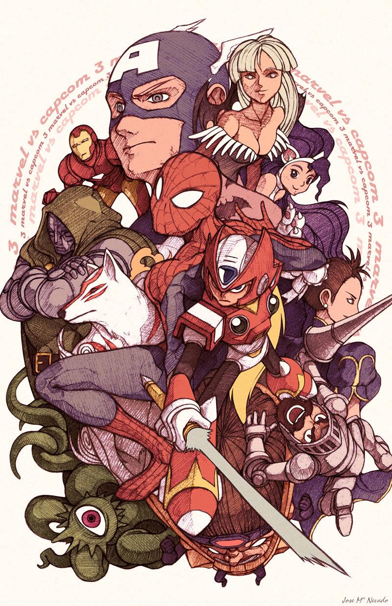 Photo of Marvel Vs Capcom 3: O vídeo com o 3º episódio de animação com os participantes do game! [PS3/X360]