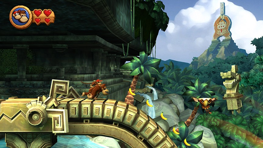 Photo of Donkey Kong Country Returns: Diddy e Donkey Kong voltaram a selva sem suas bananas?