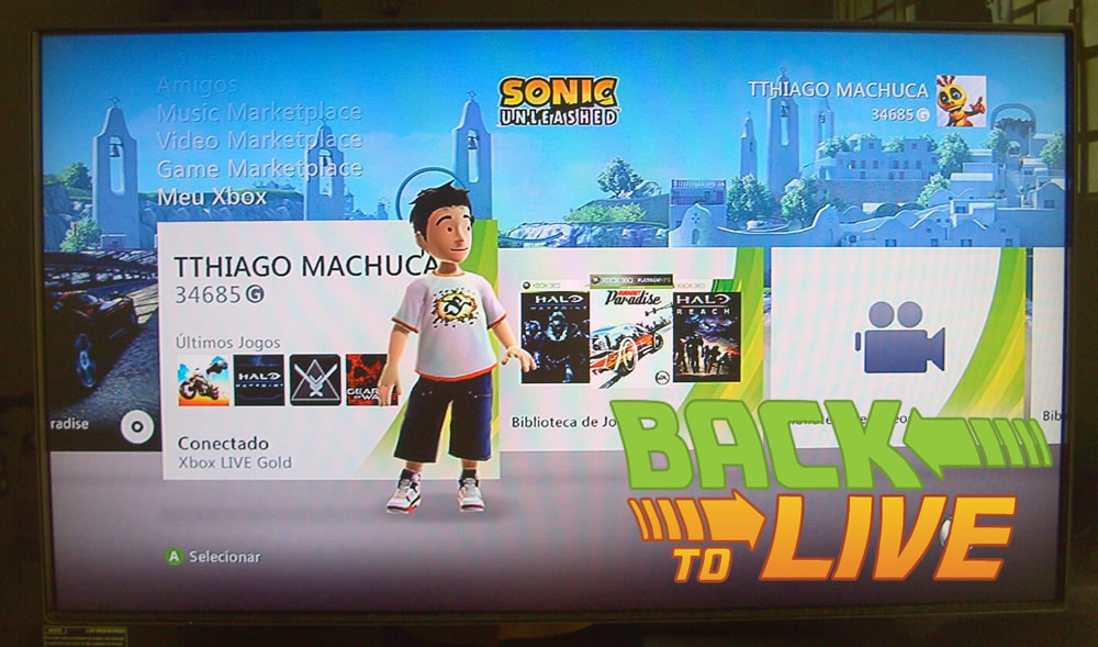 "Photo of [Especial] ""Back to Live"" – 1ª Parte: O novo Xbox 360!"