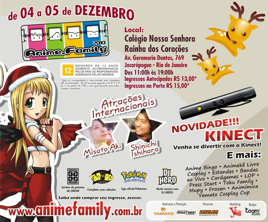 Photo of Especial: Anime Family 2010 – Eu Fui!