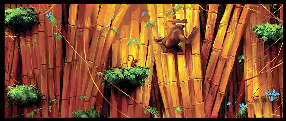 Photo of Arte conceituais de Donkey Kong Country Returns distinguem planejamento do resultado final? [Wii]
