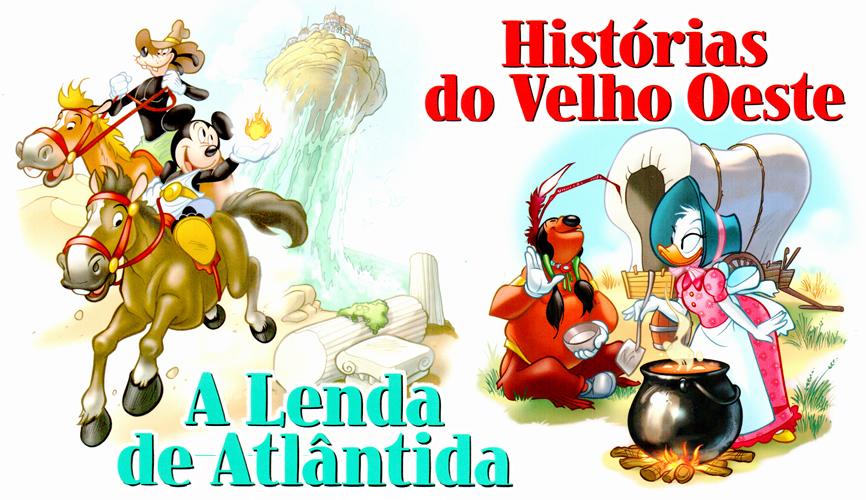 Photo of Clássicos da Literatura Disney Vol. 31/32 nas bancas! [A Lenda de Atlântida] [Histórias do Velho Oeste]