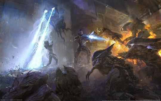 Photo of Wallpaper do dia: Mass Effect 2!