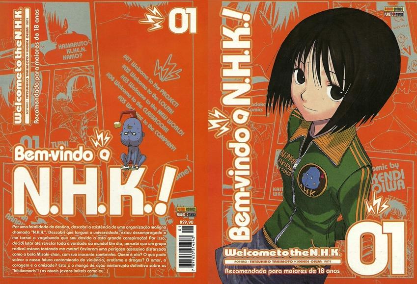 Photo of A vida tão séria quanto engraçada dos Hikikomoris! Welcome To The N.H.K.! [Volume 01] [MdQ]