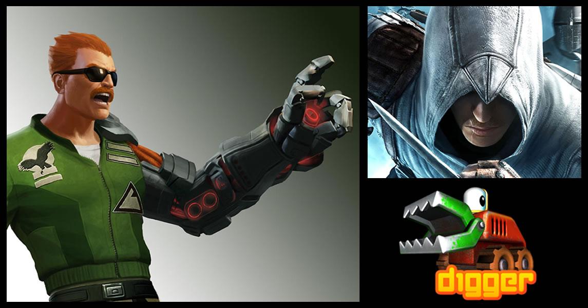 Photo of Bionic Commando: Rearmed 2 e Assassin's Creed II chegam na PSN desta semana! [PS3/PSP]