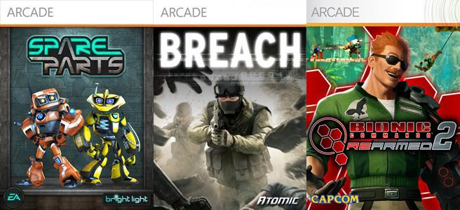 Photo of Lançamentos Live Arcade: Spare Parts, Breach e Bionic Commando Rearmed 2! Rápidas Impressões!