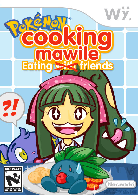Photo of Cooking Mama: Eating with Friends? Não! Cooking Mawile: Eating Friends! [PicArt]