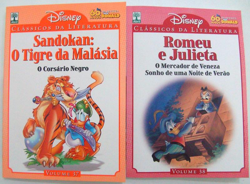 Photo of Nas Bancas: Clássicos da Literatura Disney 37 e 38! [Extra: Capas da 5ª rodada das Edições Extras]