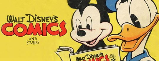 Imagem para o banner do blog Disney_comics