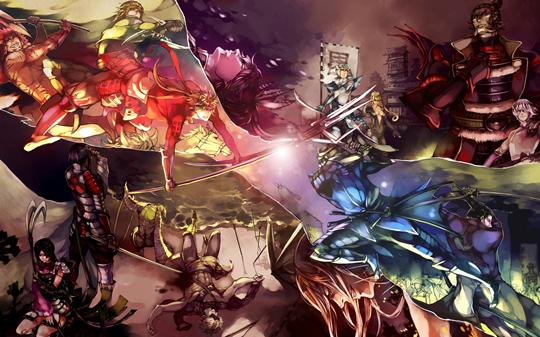 Photo of Wallpaper do dia: Sengoku Basara!