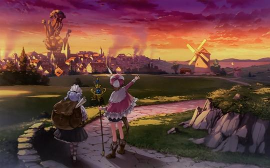 Photo of Wallpaper do dia: Atelier Rorona!