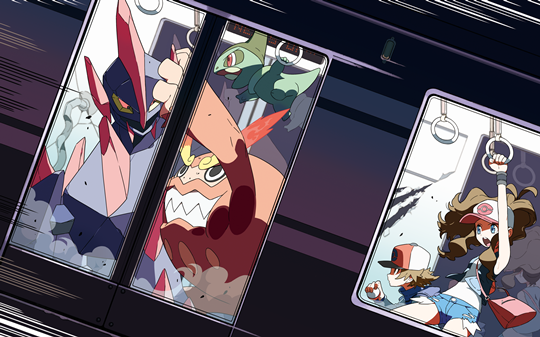Photo of Wallpaper do dia: Pokémon Black/White!