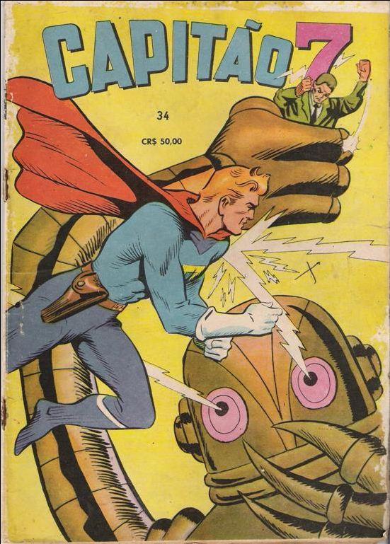 Photo of Super-Herói do dia: Capitão 7! [HQ] [PicArt]