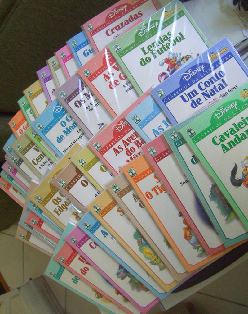 Photo of Clássicos da Literatura Disney: os 40 volumes! Conseguiu completar a coleção? (Opinião)