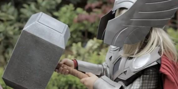 Photo of Kid Thor: Paródia genial do comercial do pequeno Darth Vader! [YouTube]