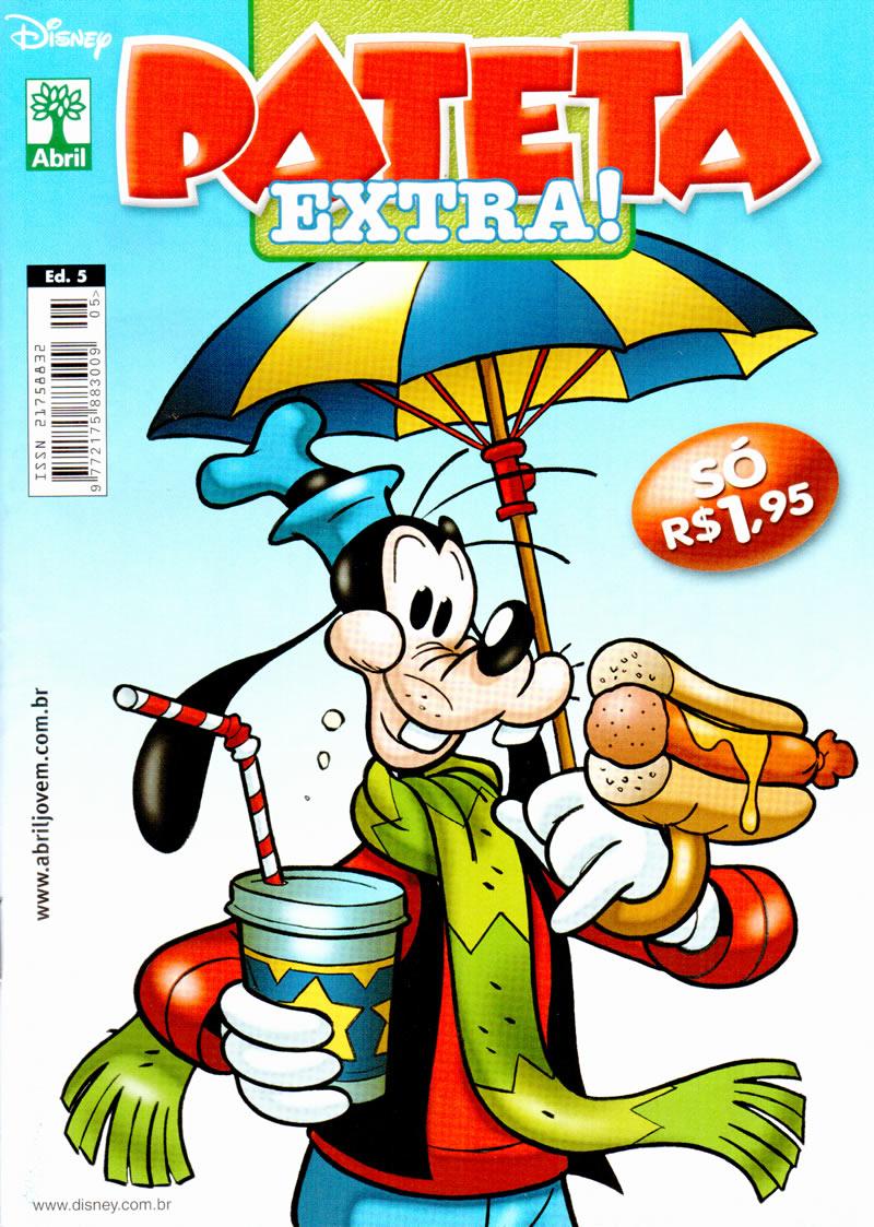 Pateta Extra nº 5 [Abril/2011] - Prévia em scans na pág 1! Pex5