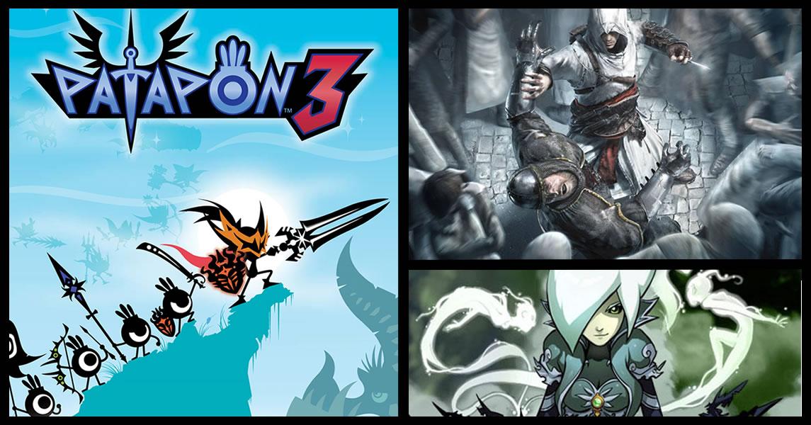 Photo of Patapon 3 chega com ritmo e agilidade na PlayStation Store desta semana