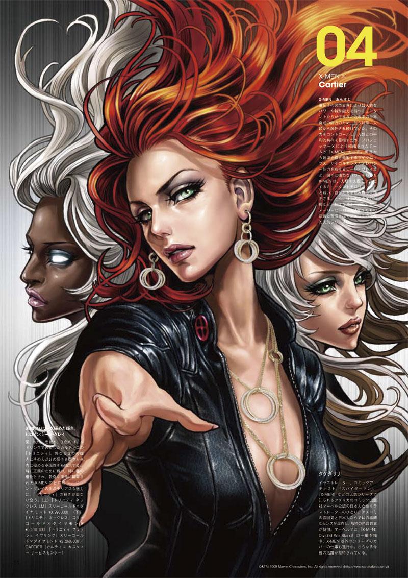 Photo of Super-Herói do dia: Fênix, Tempestade e Vampira: X-Womans! [HQ] [PicArt]