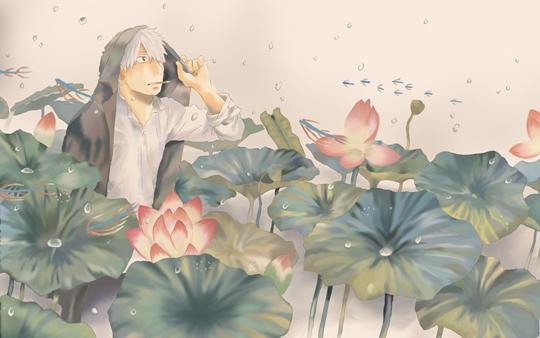 Photo of Wallpaper do dia: Mushishi!
