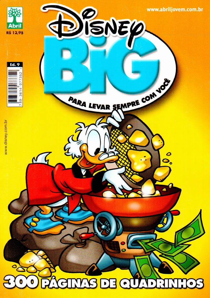 Disney BIG nº 9 [Maio/2011] - Prévia em scans na pág 19! DB9