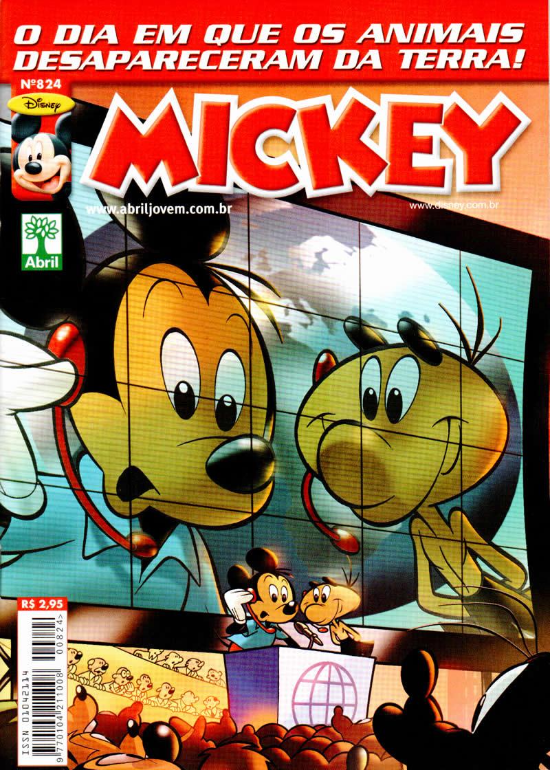 Mickey n°824 [Maio/2011] - Prévia em scans na pág. 04! - Página 3 Mk824