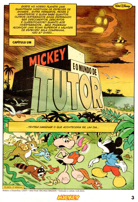 Mickey n°824 [Maio/2011] - Prévia em scans na pág. 04! - Página 3 Mk82401
