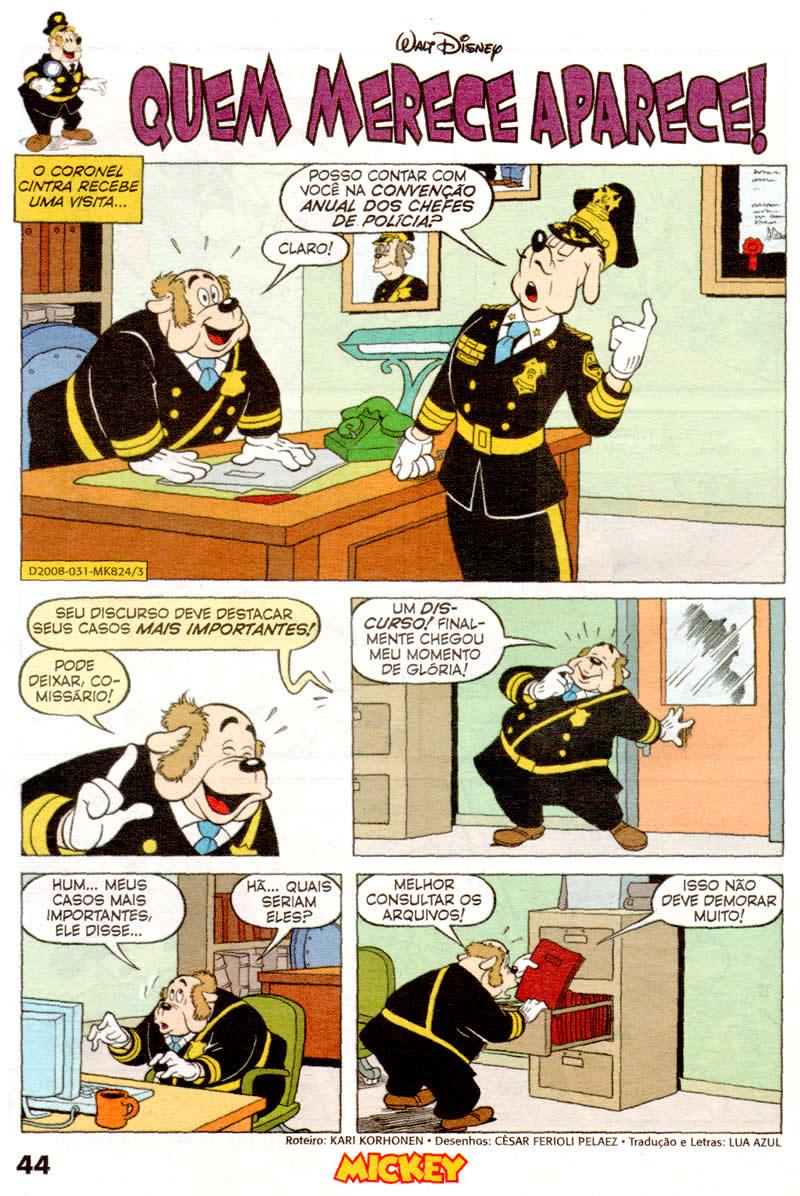 Mickey n°824 [Maio/2011] - Prévia em scans na pág. 04! - Página 3 Mk82405