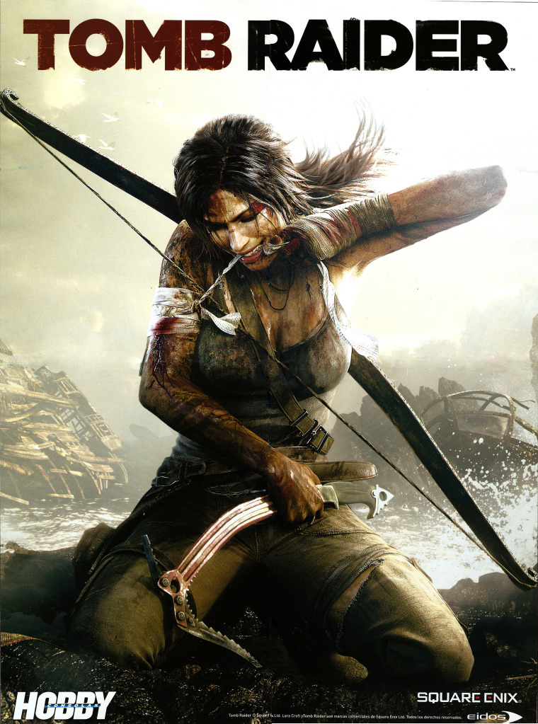 Photo of Tomb Raider está de volta em novas imagens: Saiba quem influenciou a nova Lara Croft! [PS3/X360/PC]