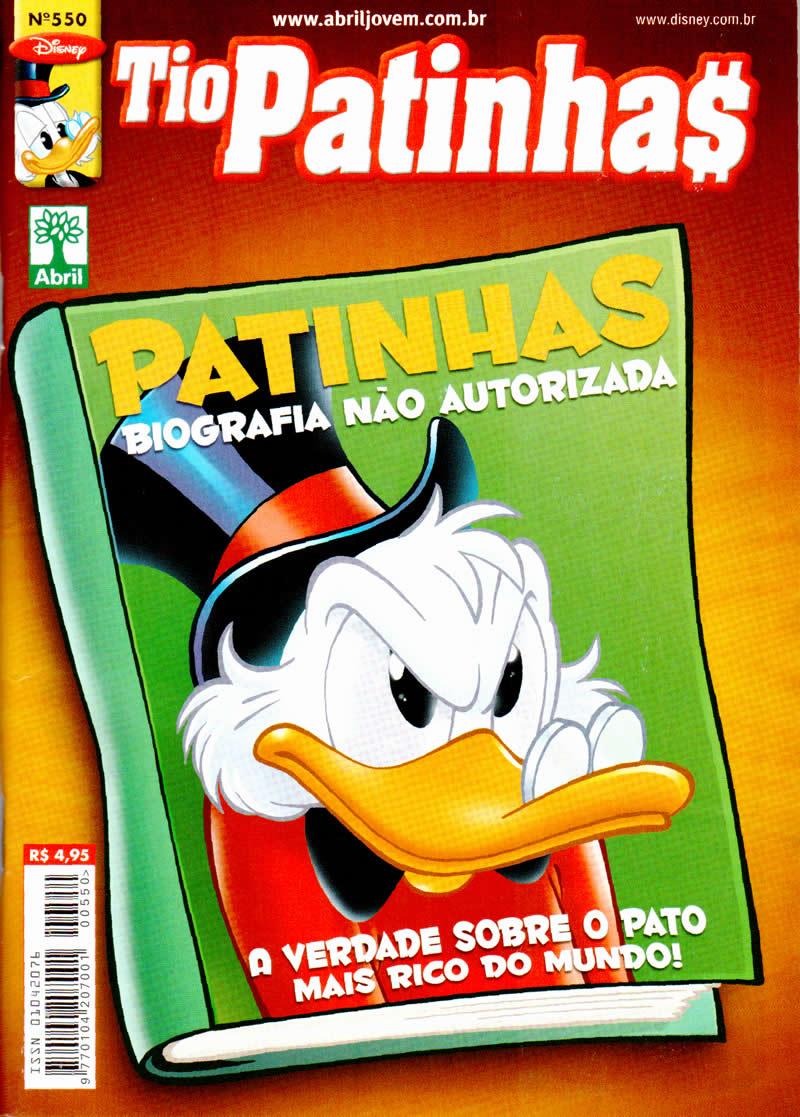 Tio Patinhas n°550 [Maio/2011] - Prévia em scans na pág. 04! - Página 3 Tp550