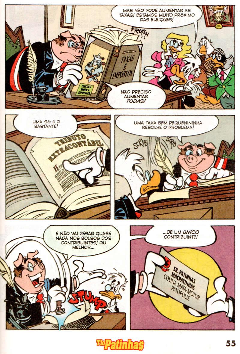 Tio Patinhas n°550 [Maio/2011] - Prévia em scans na pág. 04! - Página 3 Tp55009