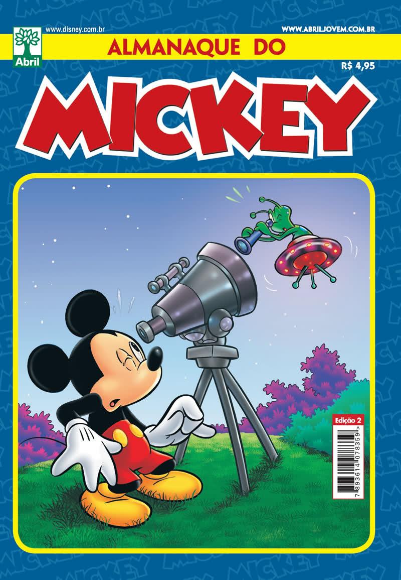 Almanaque do Mickey #02 [Junho/2011]  - Prévia em scans na pág. 01! ALMK02