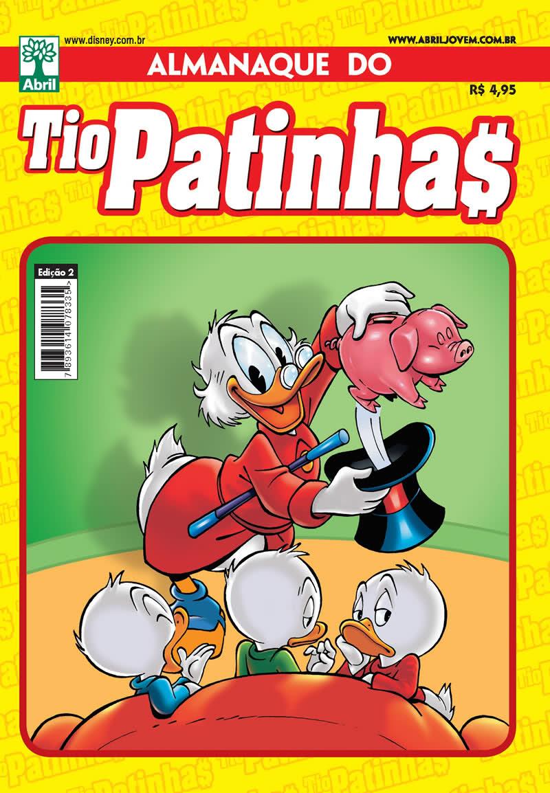 Almanaque do Tio Patinhas #02 [Junho/2011]  - Prévia em scans na pág 01! ALTP02