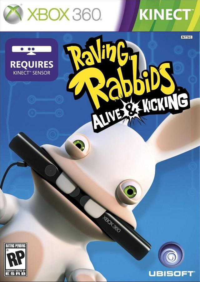 Photo of Coelhos malucos da Ubisoft chegando ao Kinect em Raving Rabbids Alive & Kicking! (E3 2011)