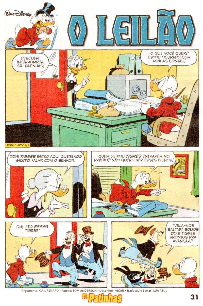 Tio Patinhas n°551 [Junho/2011]  - Prévia em scans na pág 02! TP55104