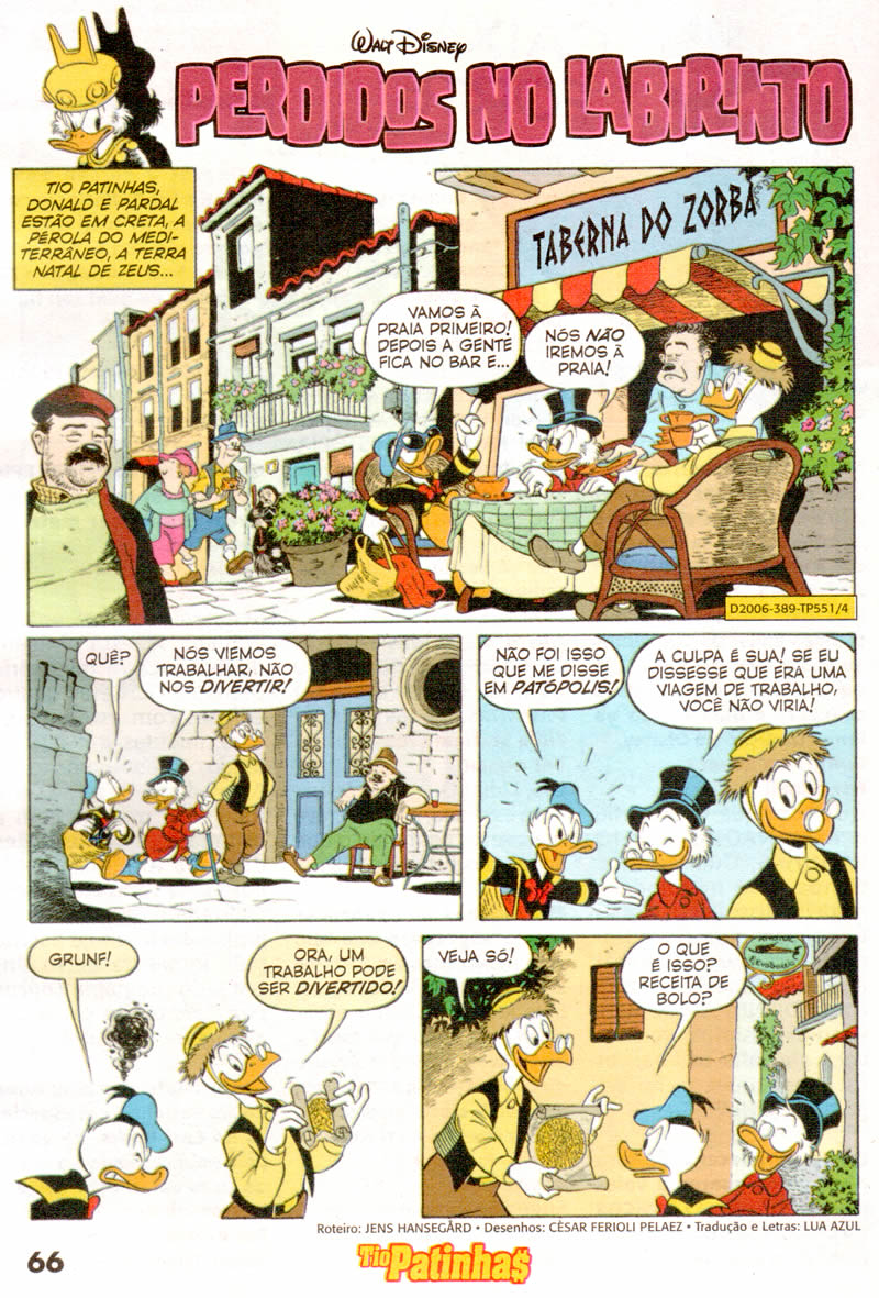 Tio Patinhas n°551 [Junho/2011]  - Prévia em scans na pág 02! TP55108