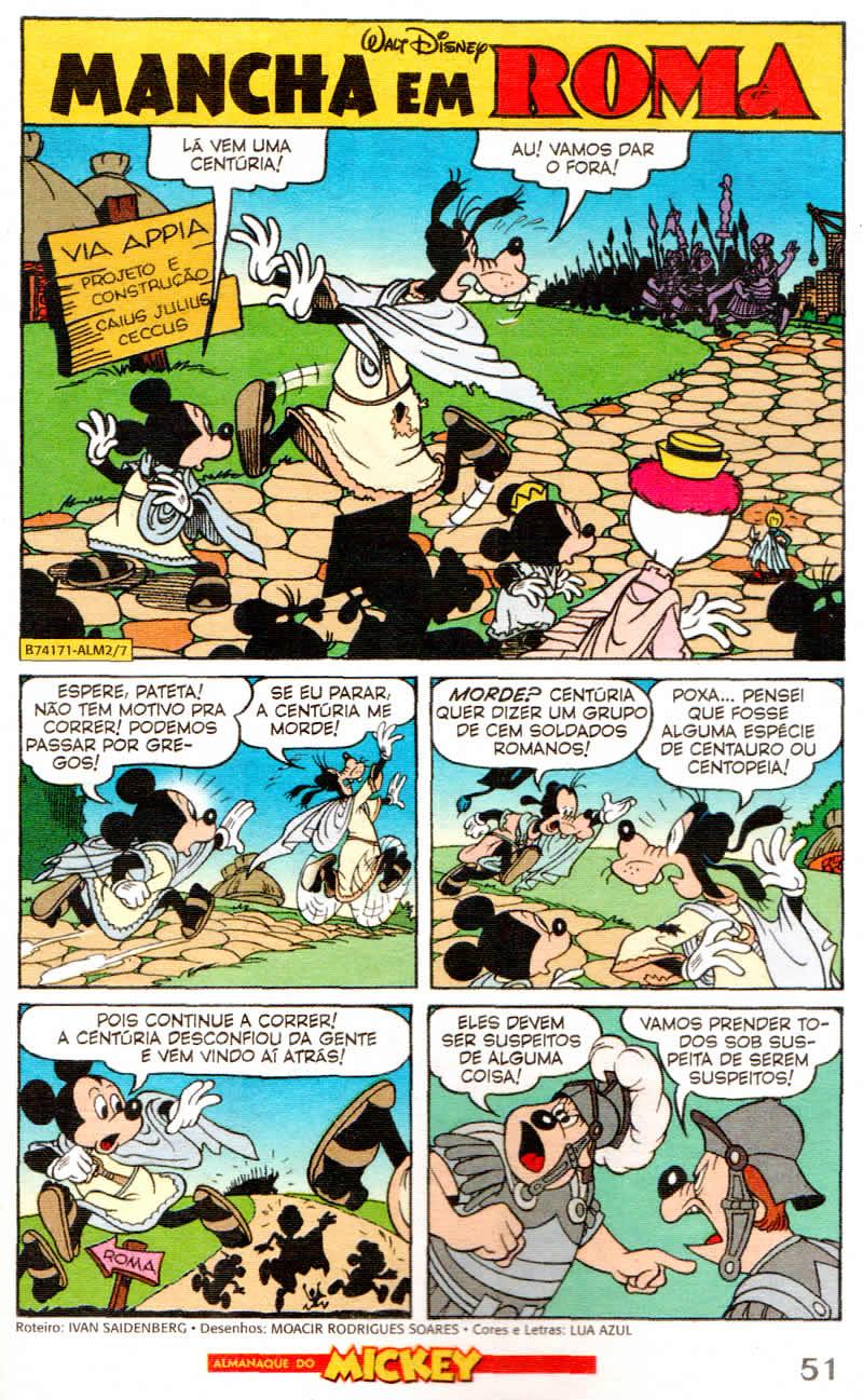 Almanaque do Mickey #02 [Junho/2011]  - Prévia em scans na pág. 01! Almk0207