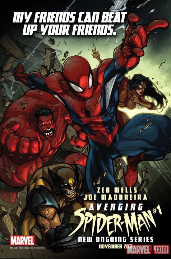 Photo of A nova revista mensal do Homem-Aranha mostrará o lado mais vingador do herói! [HQ]
