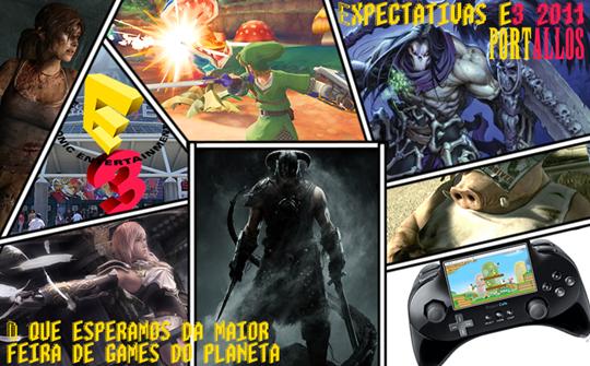 Photo of E3 2011: o hype dos membros do Portallos em forma de post! O que esperamos da feira? [Post Coletivo]