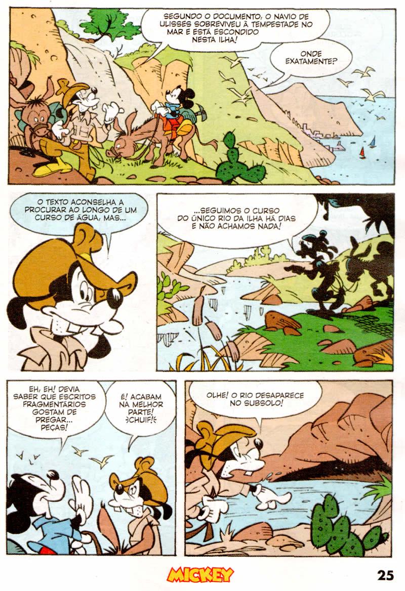 Mickey n°825 [Junho/2011] - Prévia em scans na pág. 01! Mk82506