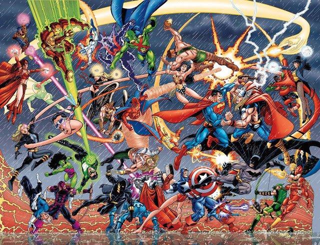 Photo of Imaginação: Como seria um game de Marvel X DC? [Games] [Imaginação]