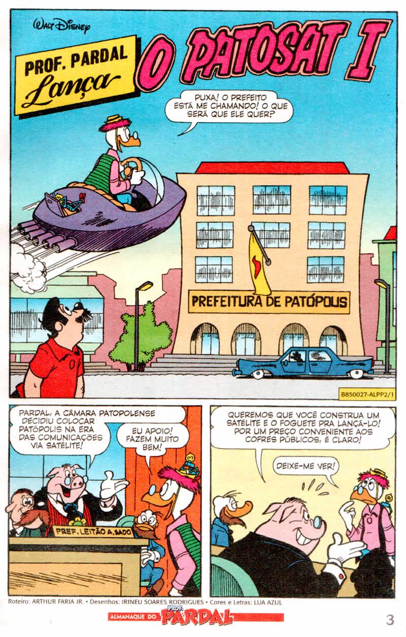 Almanaque do Prof. Pardal #02 [Julho/2011]  - Prévia em scans na pág 02! ALPP201