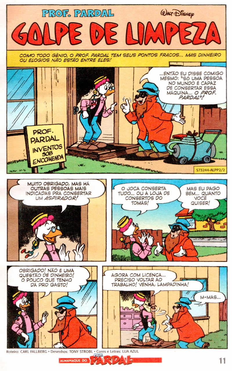 Almanaque do Prof. Pardal #02 [Julho/2011]  - Prévia em scans na pág 02! ALPP202