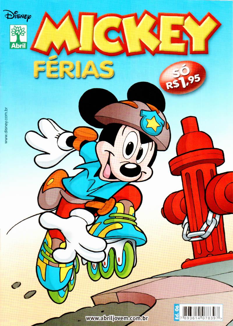 Mickey Férias #6 [Julho/2011] - Prévia em scans na pág 02! MK0600