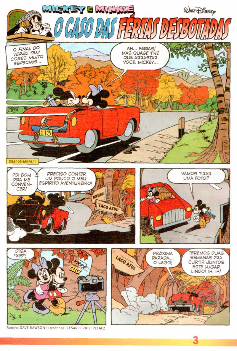 Mickey Férias #6 [Julho/2011] - Prévia em scans na pág 02! MK0601