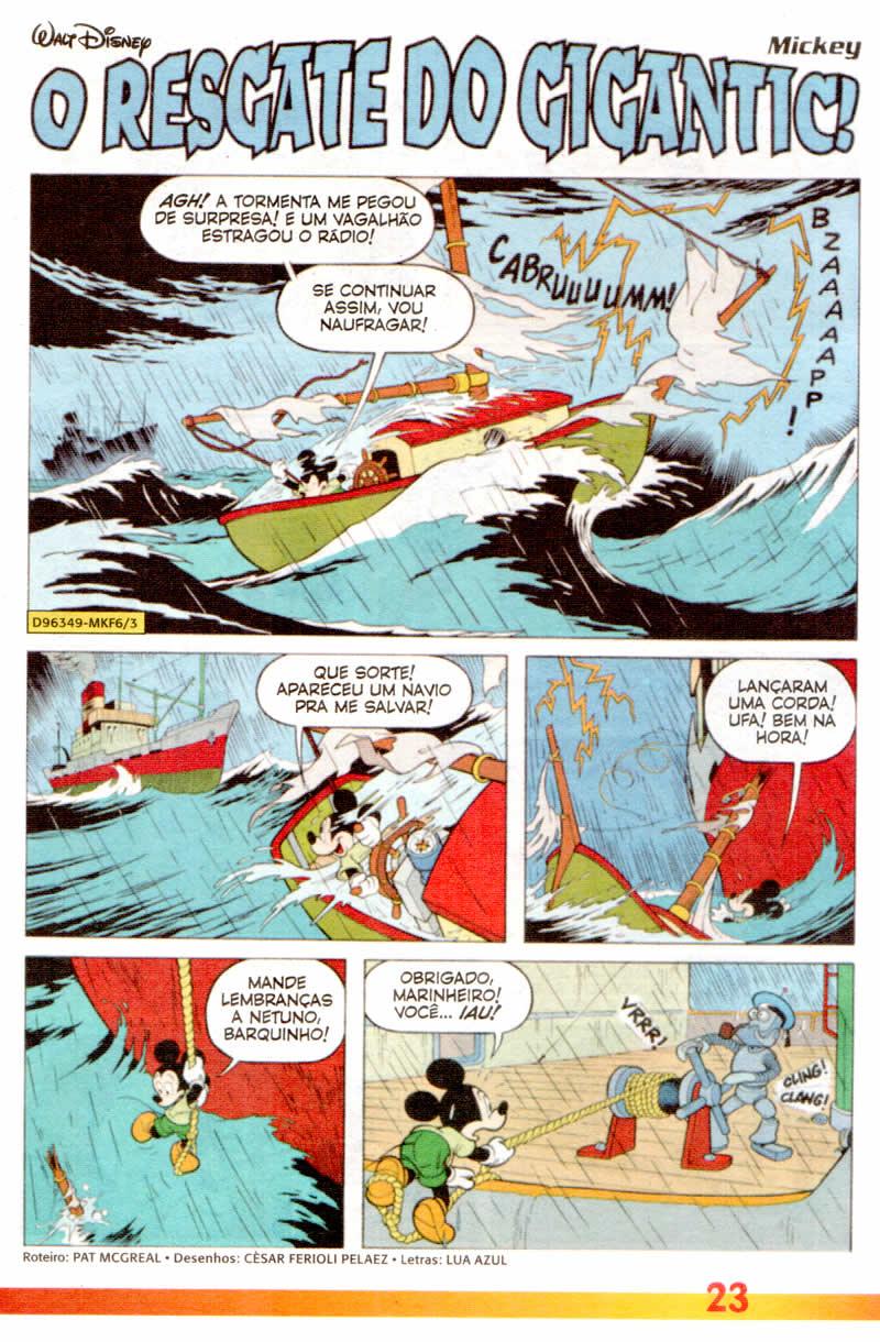 Mickey Férias #6 [Julho/2011] - Prévia em scans na pág 02! MK0605