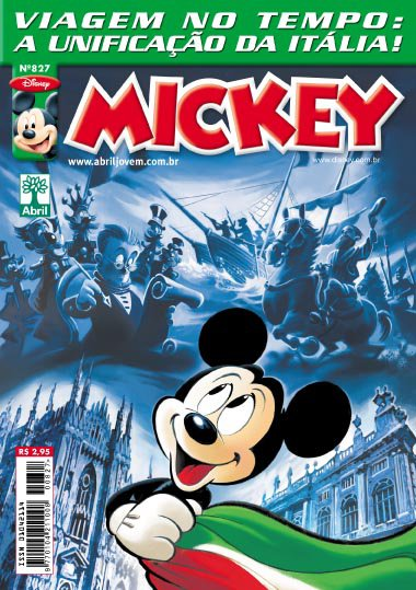 Mickey n°827 [Agosto/2011]  - Prévia em Scans na pág 01! MK827
