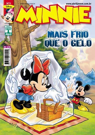 Minnie n° 03 [Agosto/2011] - Prévia em Scans na pág. 01! MN03