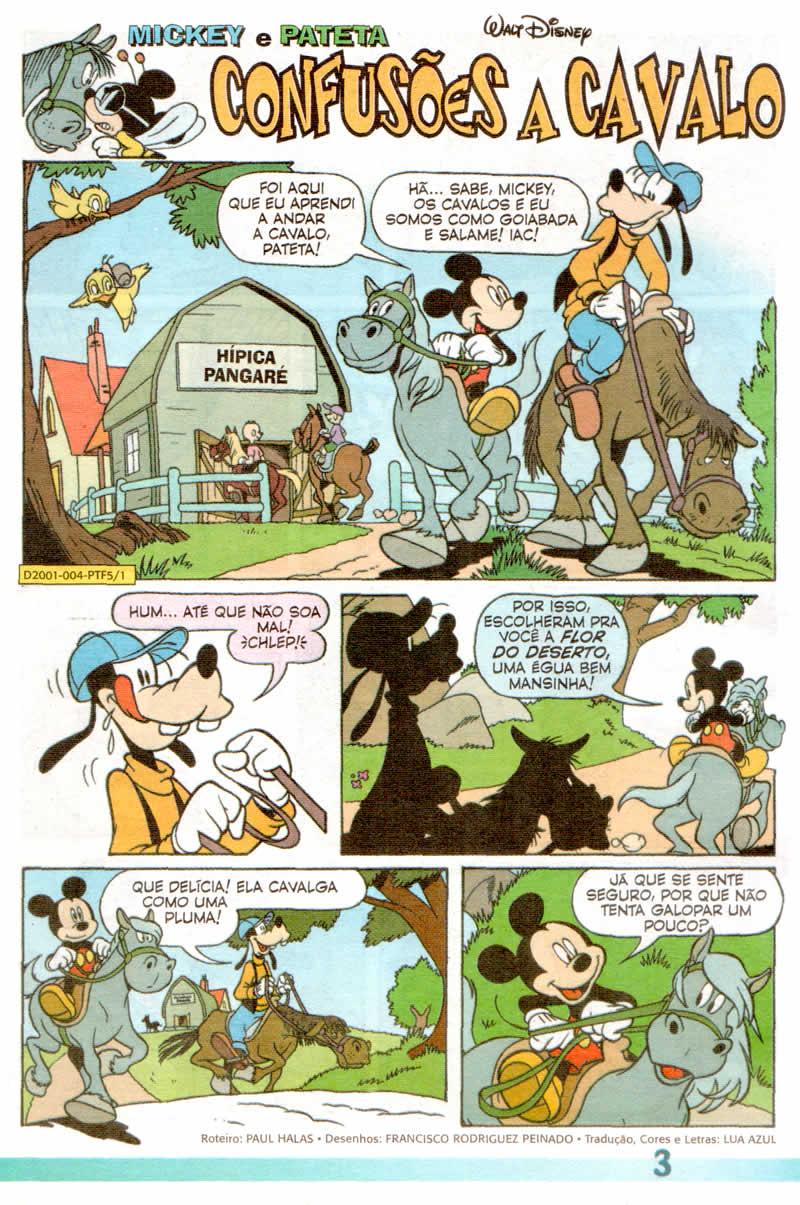 Pateta Férias #5 [Julho/2011] - Prévia em scans na pág. 01! PT0501